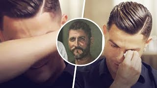 Cristiano Ronaldo burst into tears during an interview | Oh My Goal
