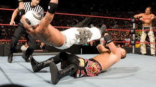 Rey Mysterio & Shawn Michaels Vs. The Miz & John Morrison (RAW, November 17, 2008)