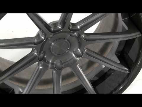 Vellano forged wheels Vellano VKS-C Black forged alloy wheels
