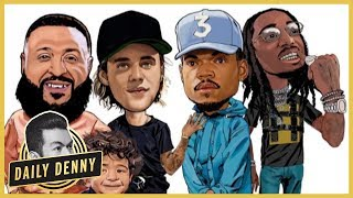 New Music Friday! Dj Khaled, Justin Bieber, Chance The Rapper, & Quavo Drop No Brainer | #DailyDenny