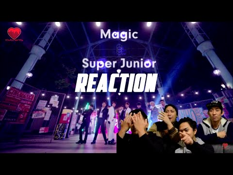 [4LadsReact] Super Junior (슈퍼주니어) - MAGIC MV Reaction