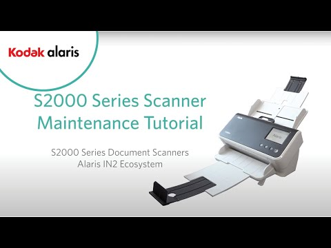 S2000 Series Scanner Maintenance Tutorial Preview