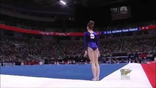 McKayla Maroney - Floor - 2012 Olympic Trials - Sr. Women - Day 1