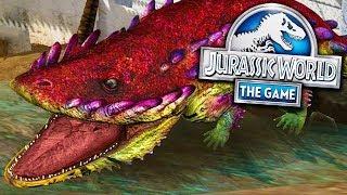 INCRÍVEL ERYOPS NOVO DINOSSAURO! - Jurassic World - O Jogo - Ep 347