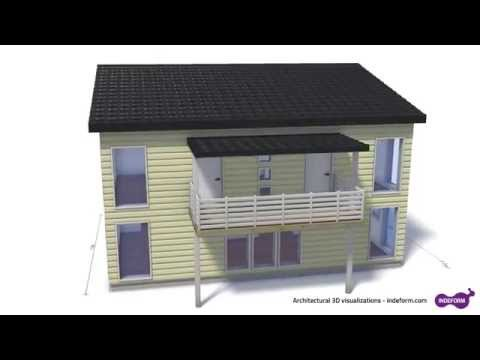 Architectural 3D house visualization - Blender 3D Animators