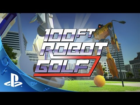 100ft Robot Golf Trailer