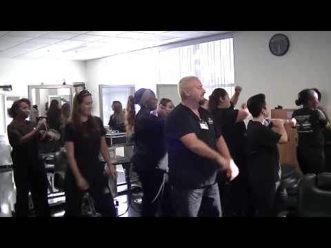 Blake Austin College beauty Academy Flash Mob