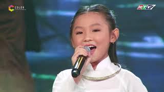Cô bé dân ca Nghi Đinh khiến khán giả 'tan chảy' với giọng hát ngọt lịm |Thần tượng tương lai