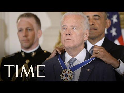 President Obama Gives Joe Biden The Presidential Medal of Freedom   TIME