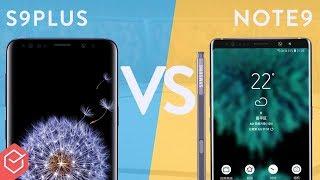 Galaxy S9 Plus vs NOTE 9 - Vale a pena o upgrade? | Comparativo