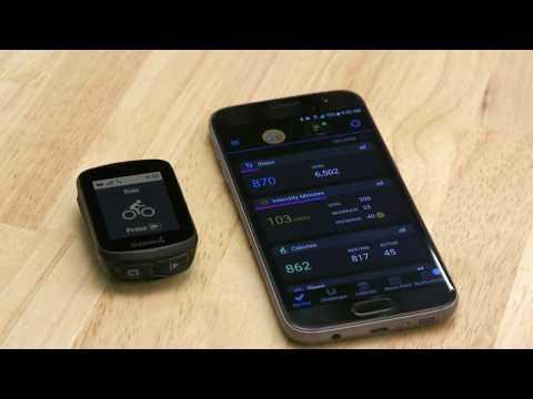 Garmin Edge 130 - Téléchargement des champs de donnees avec Connect IQ
