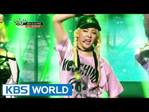 Triple T ( HYOYEON, MIN, JOKWON) - Born to be Wild [Music Bank / 2016.08.26]