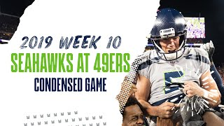 2019 Week 10: Seahawks at 49ers | Condensed Game