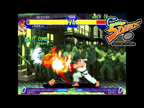 "[BIS] STREET FIGHTER ALPHA: WARRIORS' DREAMS (RYU) - ""CON 5 DUROS"" Episodio 85 (1cc) (CTR)"