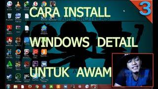 Cara install ulang Windows 7 Tanpa menghapus data Lengkap pasti bisa