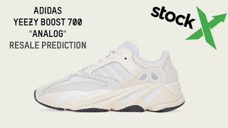 Adidas Yeezy Boost 700 Analog Resale Prediction