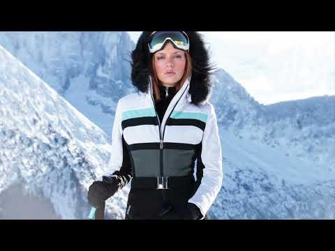 Poivre Blanc Anneka One Piece Ski Suit In Multi White