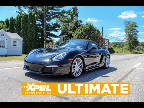 2015 Porsche Boxster XPEL Clear Bra Paint Protection by Rose Detailing