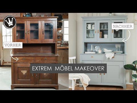DIY – Möbel PERFEKT mit Kreidefarbe streichen | VERLOSUNG | EXTREM Möbel Makeover | DekoideenReich