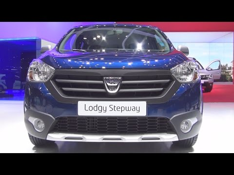 Dacia Lodgy Stepway dCi 110 Start&Stop (2016) Exterior and Interior in 3D