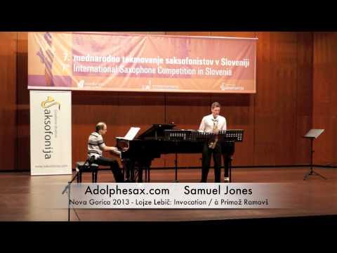 Samuel Jones - Nova Gorica 2013 - Lojze Lebič: Invocation / à Primož Ramovš
