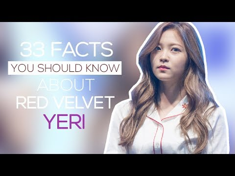 33 facts you should know about Red Velvet Yeri