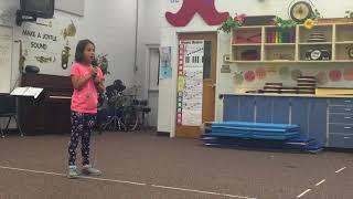 Try everything   shakira 3rd grader sings