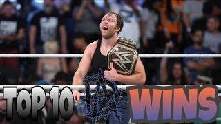 TOP 10-Dean Ambrose Biggest Wins