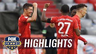 Bayern Munich out does Eintracht Frankfurt, extends lead in standings   2020 Bundesliga Highlights