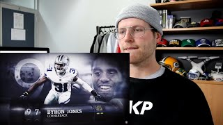 Rugby Player Reacts to BYRON JONES (CB, Cowboys) #97 The NFL's Top 100 Players of 2019!