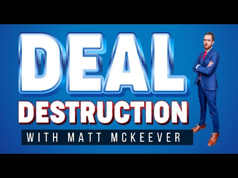 First Time Real Estate Investment   Deal Destruction Ep.01