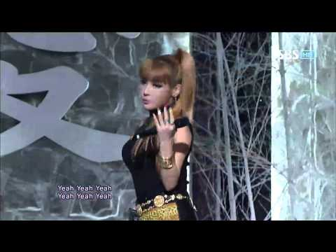 2NE1 [I Love You] @SBS Inkigayo 인기가요 20120805