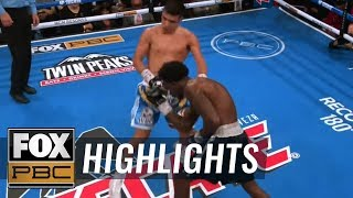 Watch all the knockouts from the Wilder-Ortiz II prelims | HIGHLIGHTS | PBC ON FOX