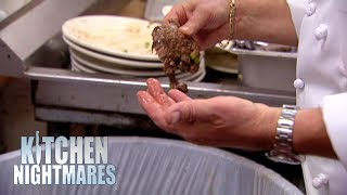 Head Chef Pulls Gordon Ramsay's Steak Out Of A Bin | Kitchen Nightmares