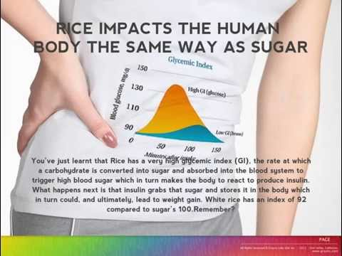 Keep the Sugar out of Rice