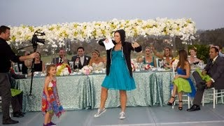 Best Maid of Honor Toast Ever (Eminem Rap) *Captions*
