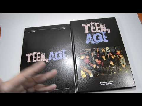Seventeen Teen,age Rose Quartz and Serenity Version (Clap) Unboxing