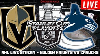 Vegas Golden Knights vs Vancouver Canucks Game 6 LIVE | Stanley Cup Playoffs Play By Play Stream