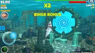 Hungry shark:ca map lon nhat hien nay-mega shark