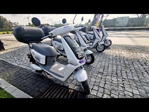 W Gliwicach pojawiły się elektryczne skutery na wynajem
