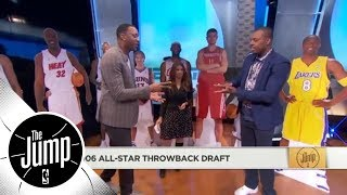 Tracy McGrady and Paul Pierce do hilarious 2006 All-Star throwback draft | The Jump | ESPN