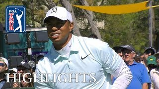 Tiger Woods' highlights | Round 2 | Valspar