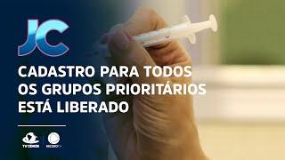 Covid-19: Governo do Ceará libera cadastro de vacinação para todos grupos prioritários
