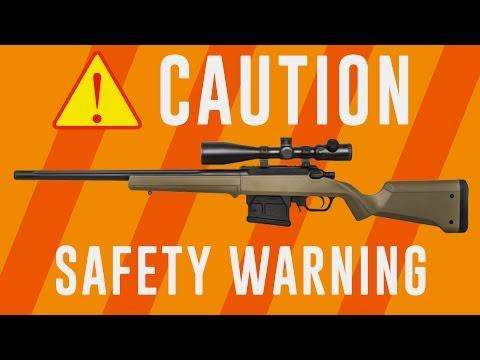 PSA: Ares Amoeba Striker Sniper Rifle WARNING! | AIRSOFTGI.COM