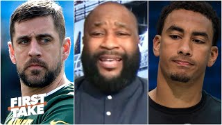 'Aaron Rodgers does not give a damn about Jordan Love!' - Marcus Spears | First Take