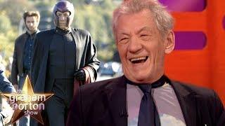 Sir Ian McKellen Still Wears Magneto's Bodysuit!   The Graham Norton Show