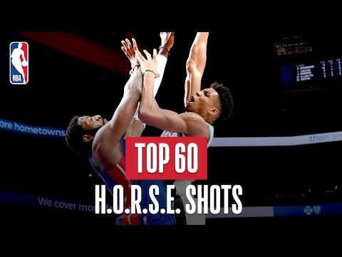 NBA's Top 60 H.O.R.S.E. Shots | 2018-19 NBA Season