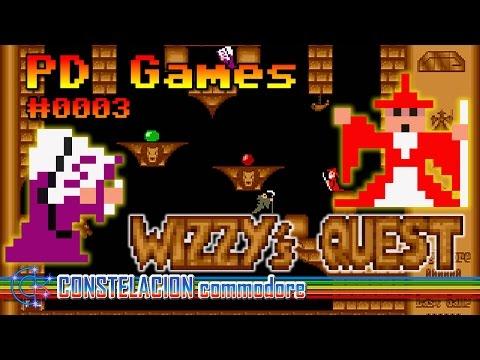 PD Games #0003: Wizzy's Quest (Amiga) | Guido Appenzeller & Sören Appenzeller