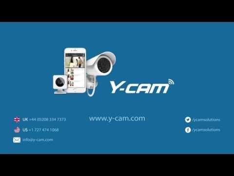 Y-cam Evo - striking design and simple set up