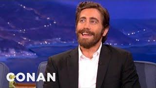 Nobody Says Jake Gyllenhaal's Name Correctly - CONAN on TBS
